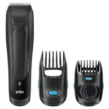 Braun BT5050 - Recortador de barba recargable de precisión con ajustes de  longitud cada 0.5 mm 109d99cedc27