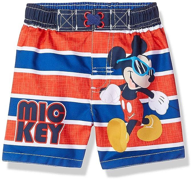 9bdaeb19480ac Amazon.com: Mickey Mouse Boys Swim Trunks Swimwear (Baby/Toddler ...