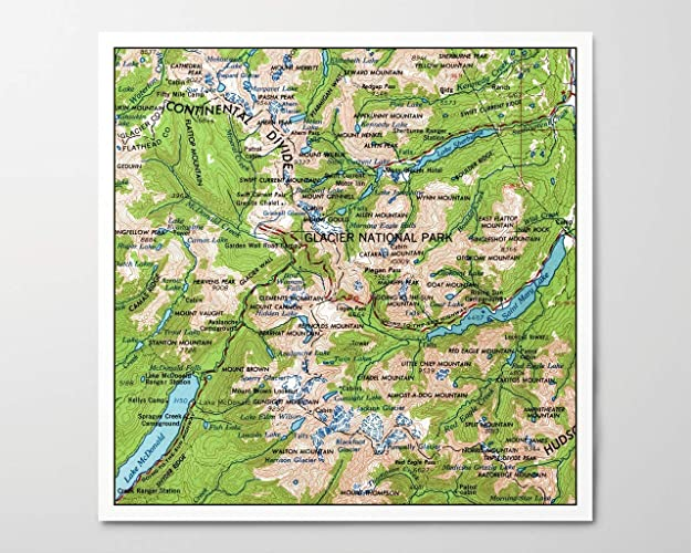 Amazon.com: 1960s Glacier National Park Map, Archival Art ... on el yunque national forest topo map, mojave national preserve topo map, white river national forest topo map, lake sammamish topo map, gallatin national forest topo map, chicago topo map, mt shasta topo map, canyonlands topo map, big bend topo map, butte topo map, colorado national monument topo map, vancouver topo map, dinosaur national monument topo map, himilayan topo map, tn topo map, big thicket national preserve topo map, many glacier topo map, tahoe topo map, sequoia national park topo map, yosemite topo map,
