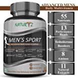 Naturyz Men's Sport Multivitamin With 55 Vital Nutrients & 13 Performance Blends Consisting - 60 Tablets