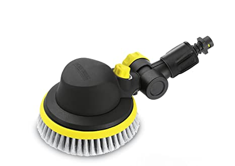Karcher Wb100 Plastic Wash Brush for Pressure Washers (Black and Yellow) Mowers & Outdoor Power Tools at amazon
