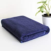 Heelium Bamboo Bath & Swim Towel, Ultra Soft, Super Absorbent, Antibacterial, 600 GSM, Full Size 55 inch x 27 inch