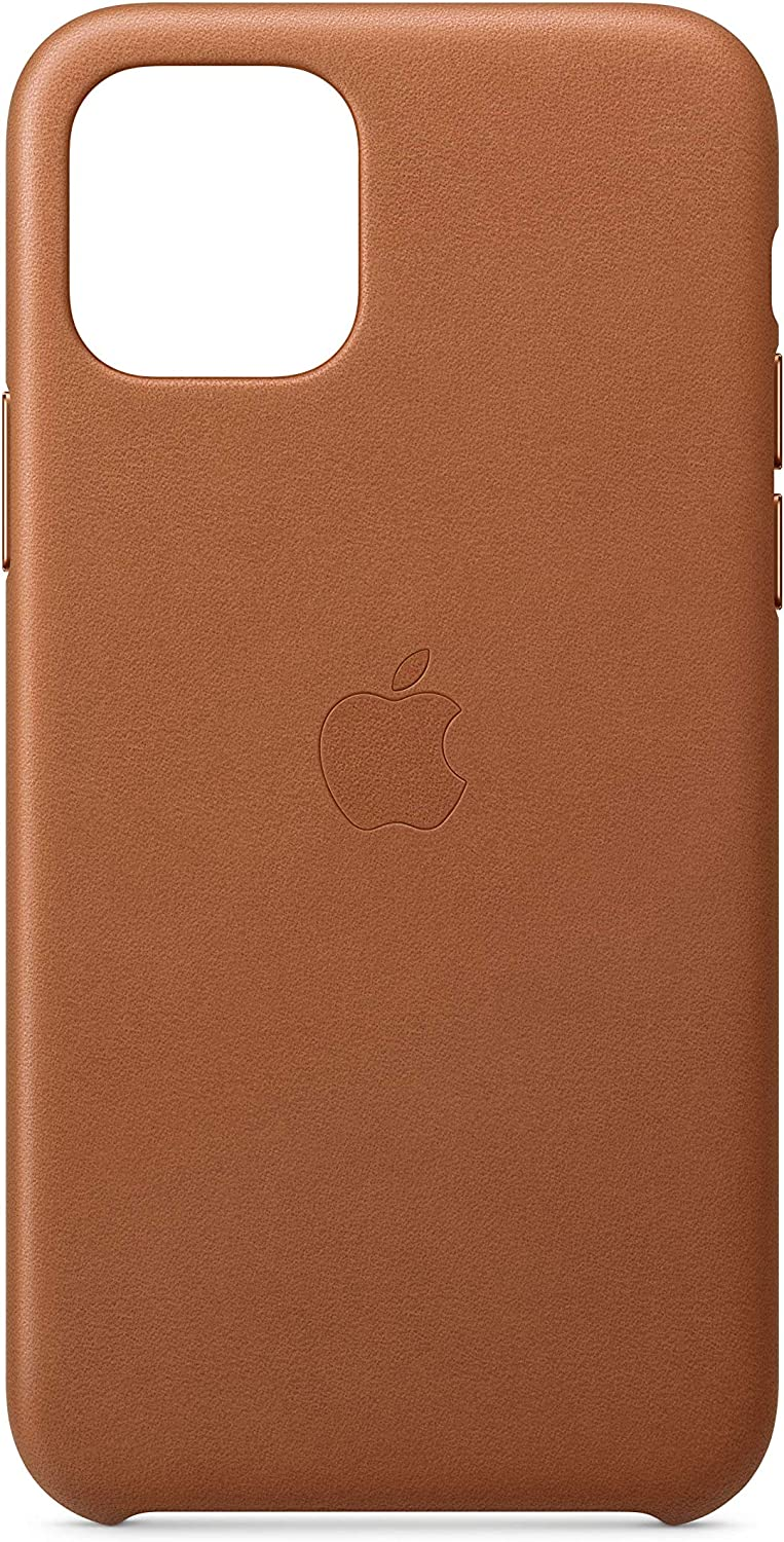 Apple Funda Leather Case (para el iPhone 11 Pro) - Marrón Caramelo