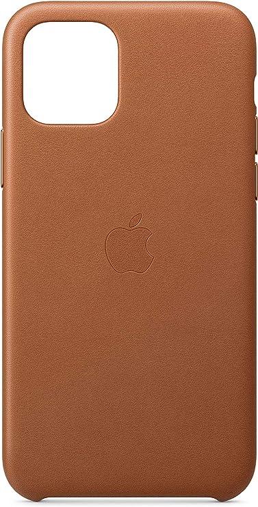 Image ofApple Funda Leather Case (para el iPhone 11 Pro) - Marrón Caramelo