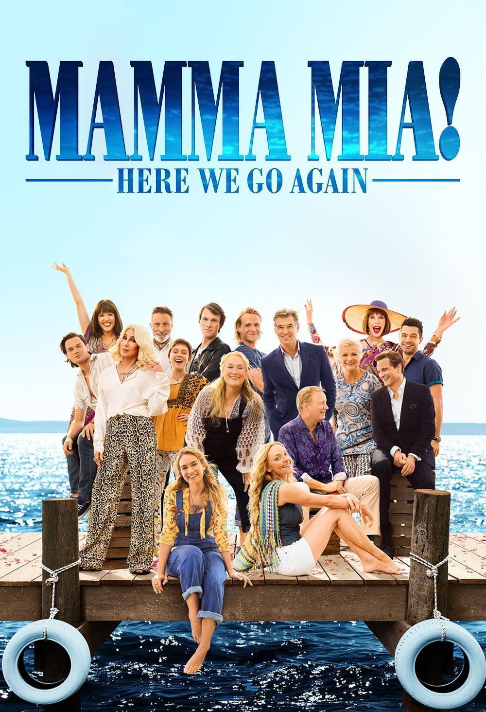 Book Cover: Mamma Mia! Here We Go Again