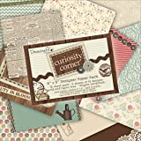 Dovecraft Curiosity Corner Pack papiers créations 15,2 x 15,2 cm Multicolore