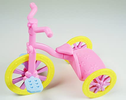Amazoncom My Little Pony Tricycle 5 Long 5 High Playset Piece
