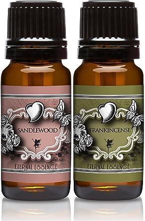 scented oils pair of essence sandalwood u0026 10 ml - Scented Oils