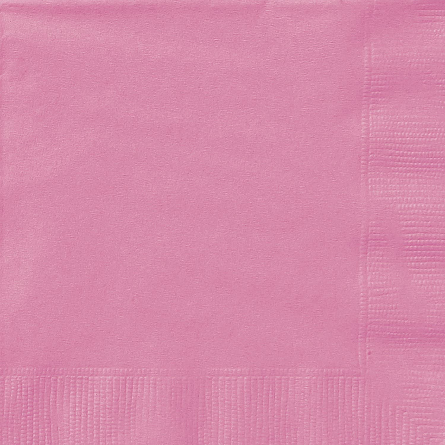 Hot Pink Beverage Napkins, 20ct
