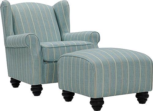 Domesis Chair and Ottoman Set