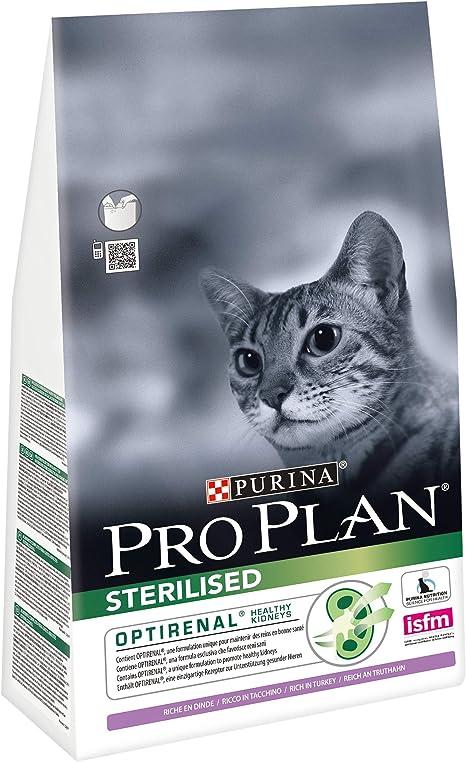 PURINA Pro Plan Comida Seco para Gato Esterilizado con Optirenal ...