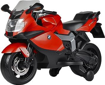 MOTOCICLETTA TRE RUOTE PER BAMBINI MOTO ELETTRICA 6V COLORE ROSSO