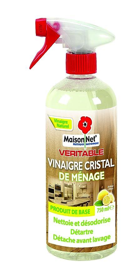 c533ecfd26d04 Maison Net Vinaigre de Ménage Arôme Citron 750 ml - Lot de 3  Amazon.fr   HygiÚne et Soins du corps
