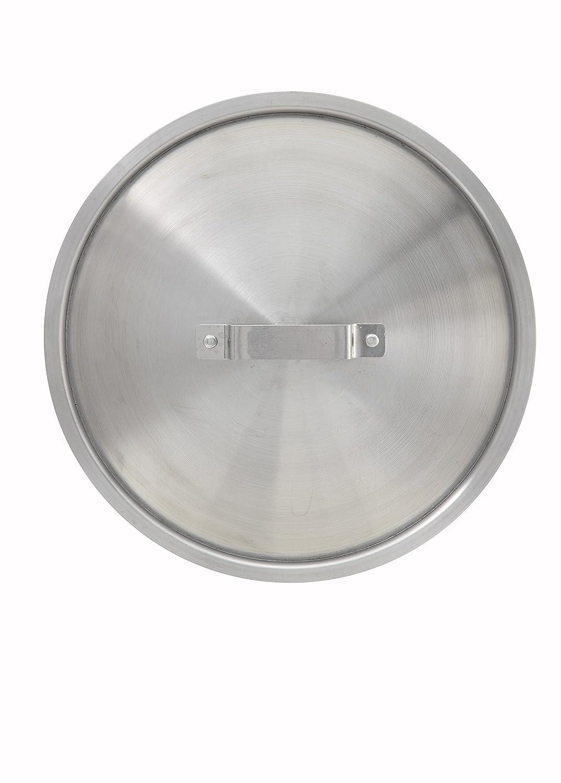 Winco AXS-16C Stock Pot Cover, 8/10/12/16-Quart Winco USA