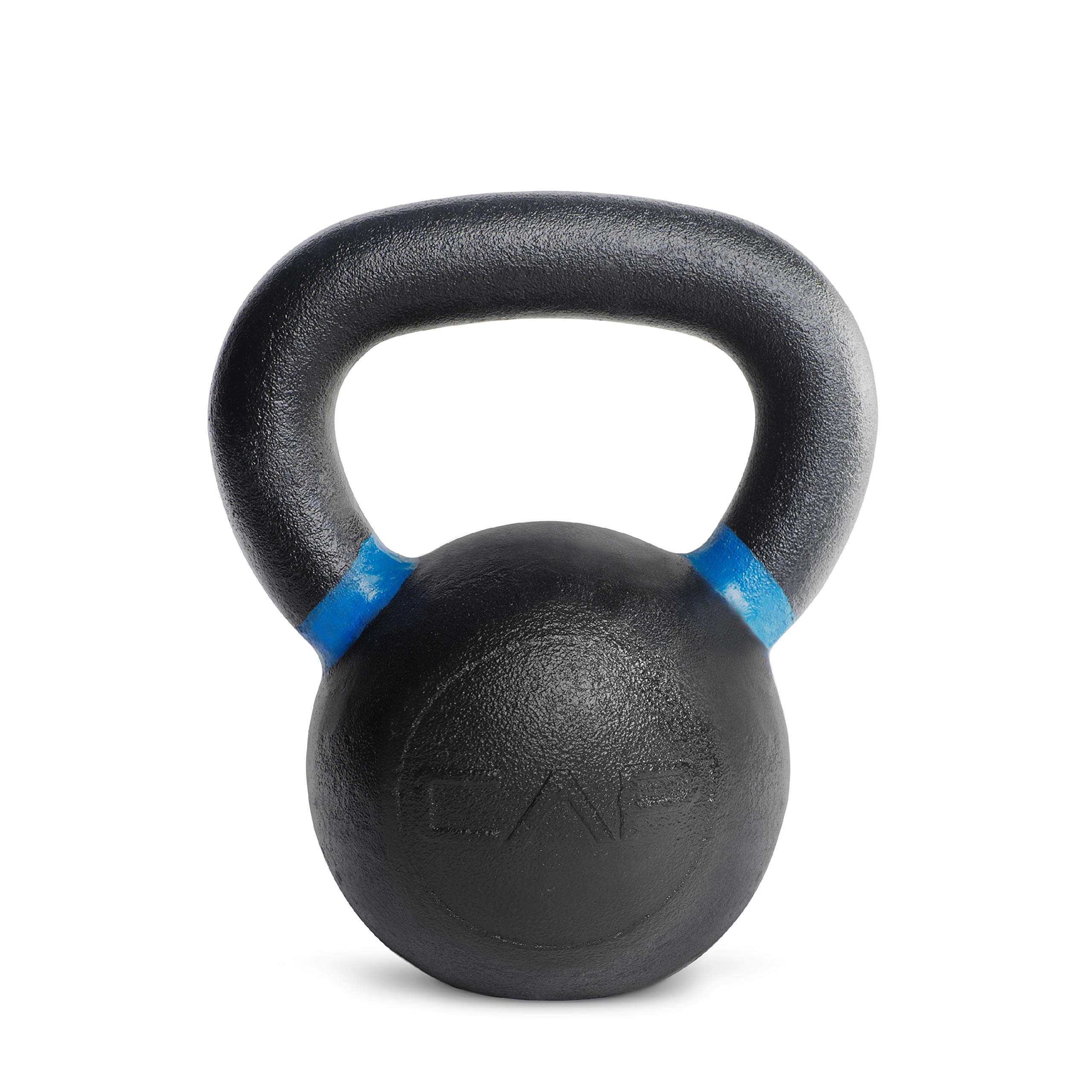CAP Barbell Cast Iron Competition Kettlebell Weight, 26 Pound, Black/Blue