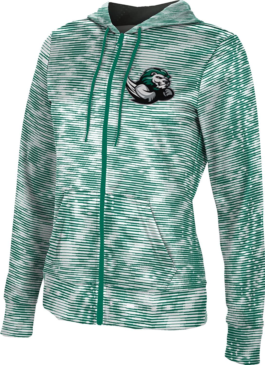 Slippery Rock University Girls Zipper Hoodie Velocity School Spirit Sweatshirt