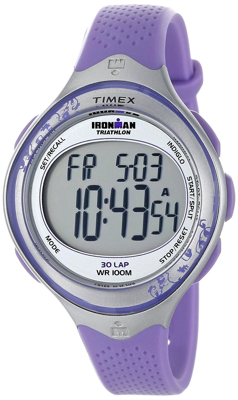amazon com timex women s t5k602 ironman classic 30 mid size blue