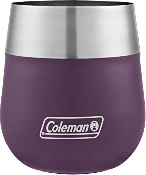 Coleman Claret Insulated Stainless Steel 13-Oz. Wine Glass