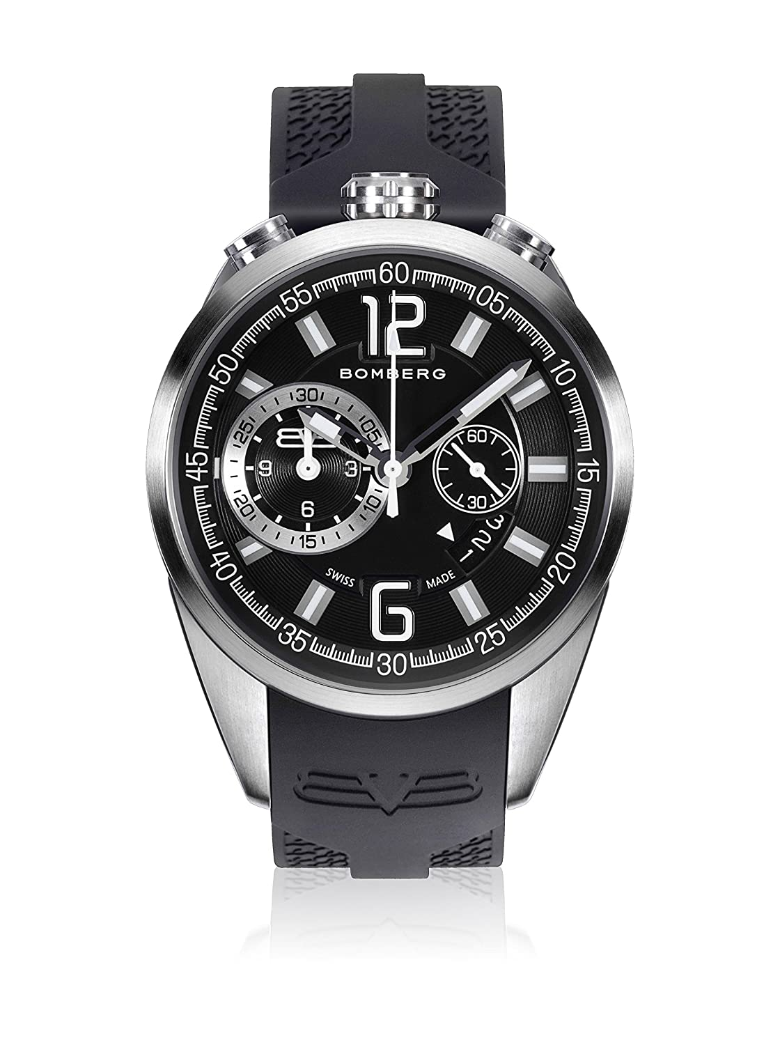 Bomberg NS44CHSS.0076.2 1968 collection Uhren - Swiss Made - 44 mm