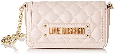 Amazon.com: Love Moschino - Bolso bandolera acolchado para ...