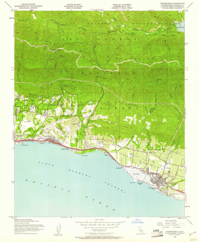 Amazon.com : YellowMaps Carpinteria CA topo map, 1:24000 ... on casmalia california map, carlotta california map, new cuyama california map, diamond springs california map, garey california map, channel islands national park california map, los padres national forest california map, alpaugh california map, figueroa mountain california map, san luis obispo county california map, california california map, capitola california map, carmel by the sea california map, cima california map, carlsbad village california map, cuyama valley california map, olympia california map, ventura california map, state of california beaches map, bodfish california map,