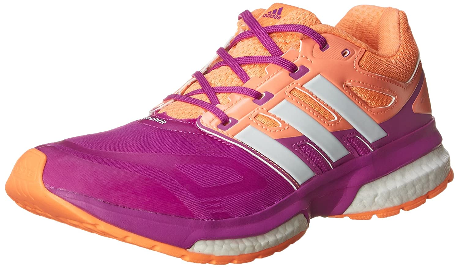 adidas Performance Response Boost Techfit J Running Shoe (Big Kid)