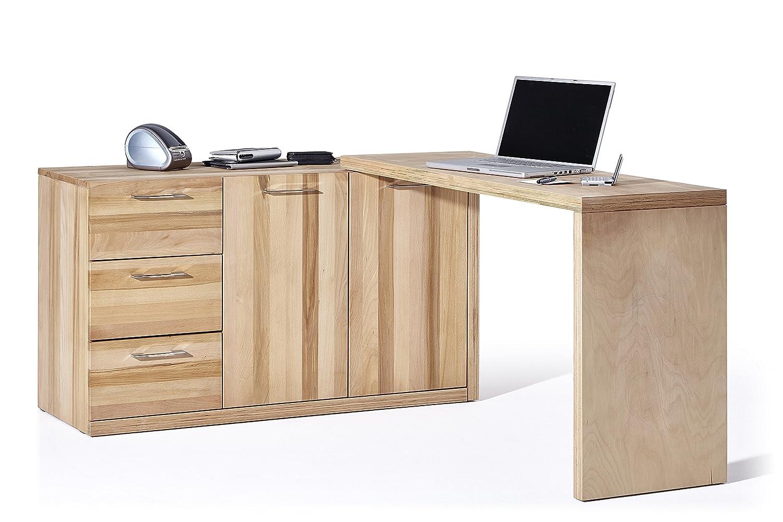Sideboard und Schreibtisch in EINEM - aus Kernbuche Massiv