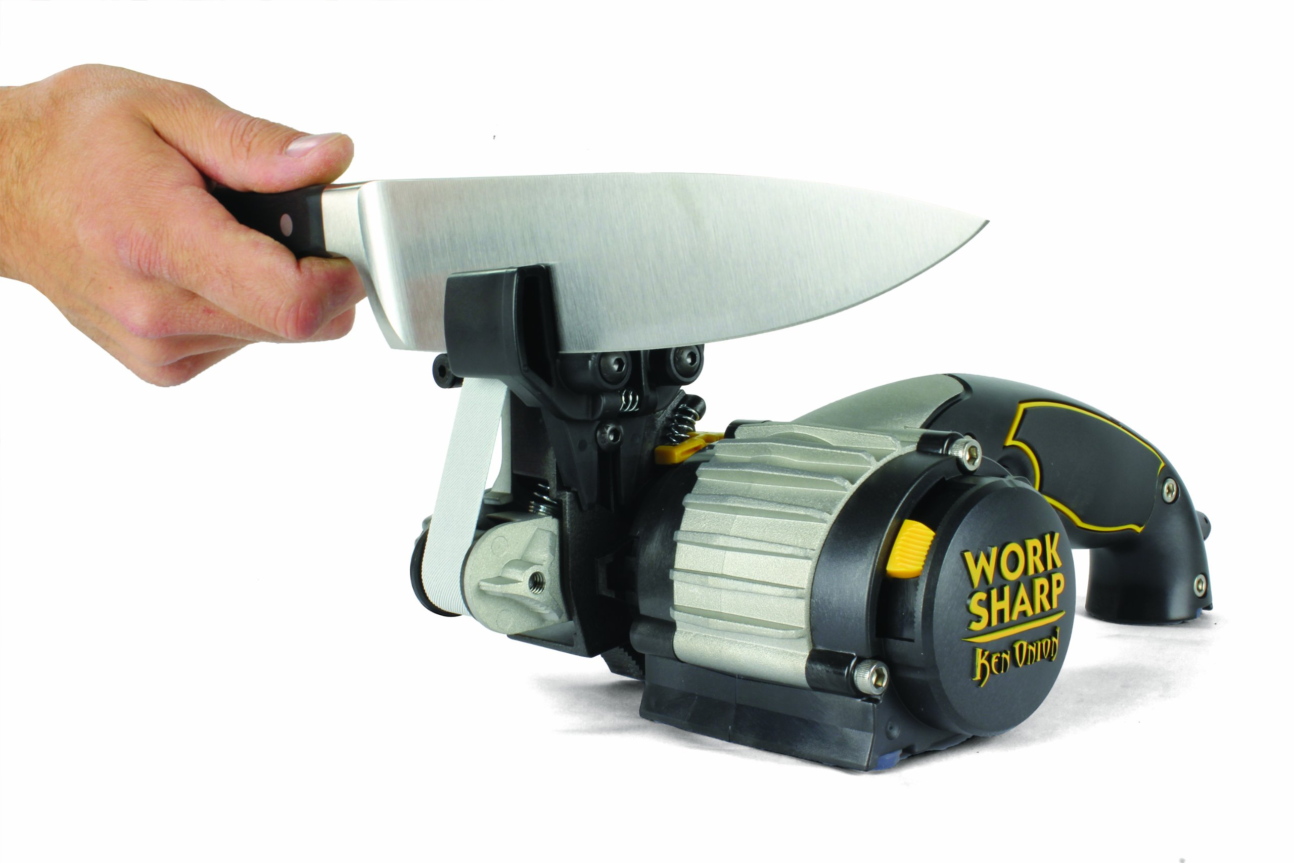 Work Sharp Ken Onion Edition, Fast, Repeatable, & Precision Sharpening from 15° to 30°, Premium Flexible Abrasive Belts, Variable Speed Motor, & Multi-Positioning Sharpening Module by Work Sharp (Image #7)