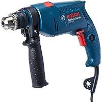 Bosch 06011A02E1-000, Furadeira de Impacto GSB 550 RE 220V, Azul