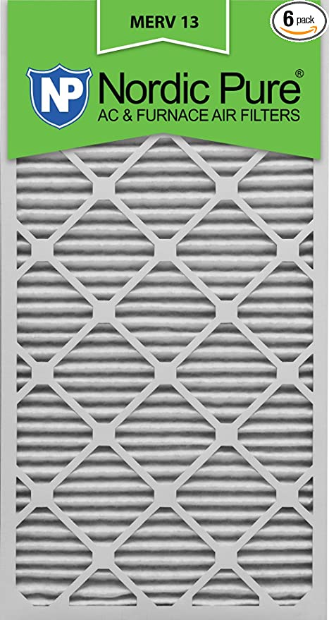 Nordic Pure 19/_1//4x23/_1//4x1 Exact MERV 10 Pleated AC Furnace Air Filters 1 Pack