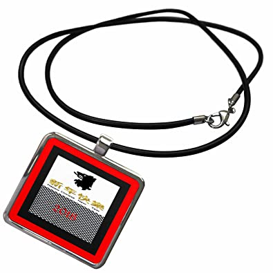 amazoncom 3drose chinese new year image of dramatic border black and white checkerboard new year necklace with rectangle pendant ncl_262611_1