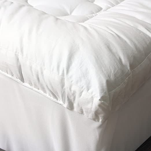 amazoncom quilted pillow top mattress protector cover this soft mattress pad fitted for your bed adds comfort mattress pads extend the life of your