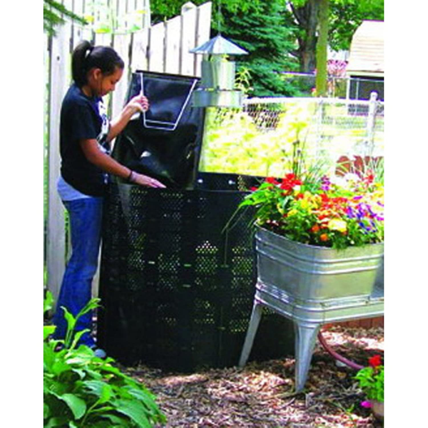 amazon com compost bin by geobin outdoor composting bins