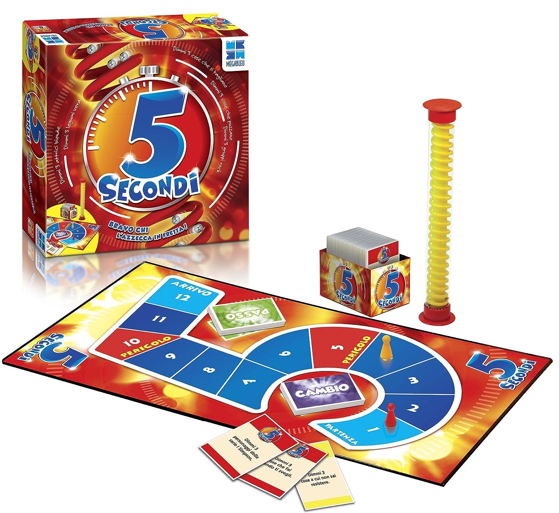 Top Grandi Giochi MB678557 - 5 Secondi: Amazon.it: Giochi e giocattoli IT31
