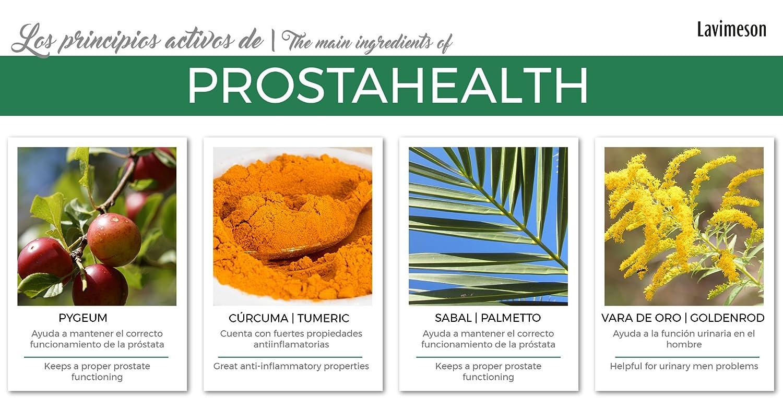 prueba de biomenta prostática fuerte