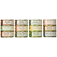 Weruva Grain Free Canned Dog Food Variety Pack - 12 Flavors (Grandma's Chicken Soup, Wok the Dog, Peking Ducken, Amazon Liver, Steak Frites, Funky Chunky, Cirque de la Mar, Paw Lickin' Chicken, Jammin' Salmon, Marbella Paella, Green Eggs & Chicken, and That's My Jam!) - 5.5 Ounces Each (12 Total Cans)
