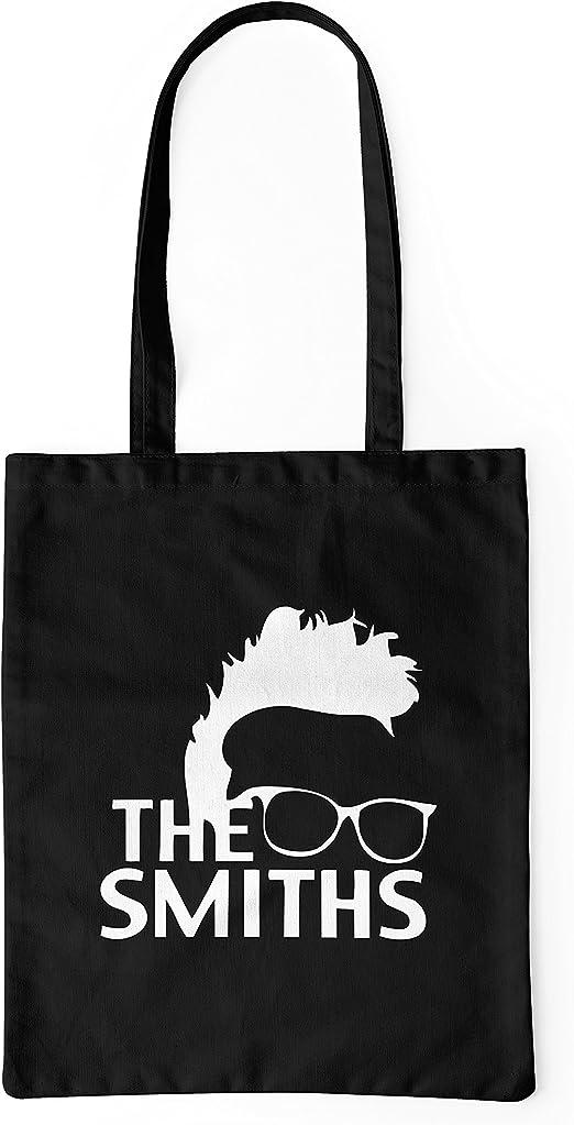 LaMAGLIERIA Bolsa de Tela The Smiths - Tote Bag Shopping Bag 100 ...
