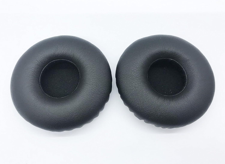 Almohadillas Redondas Negras de Repuesto para Auriculares JBL SYNCHROS E40BT E 40bt E40 BT E 40 BT Wireless Shareme On-Ear con Bluetooth