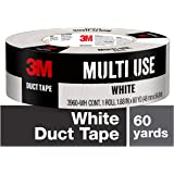 Scotch White Duct Tape, 48mm x 54.8m, 3960-WH