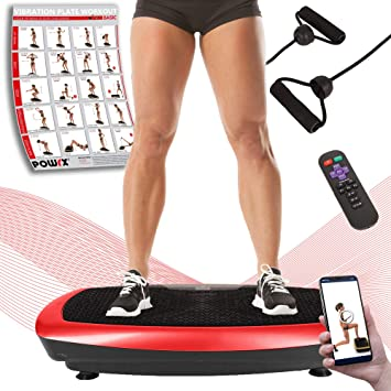 POWRX - Plataforma vibratoria Fitness Basic Duo + PDF Workout con 20 ...