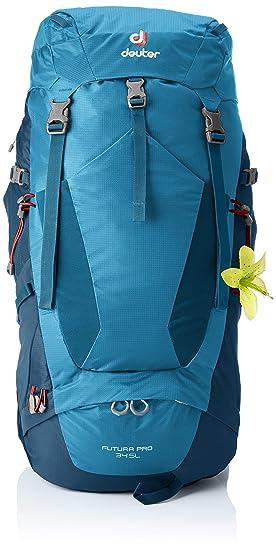 Deuter Futura PRO 34 SL Mochila, Unisex adultos, Azul (Denim/Arctic): Amazon.es: Deportes y aire libre