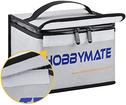 Fireproof RC LiPo Battery Safety Safe Guard Fire Retardant Lipo Battery Bag Lp