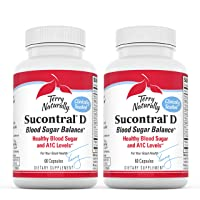 Terry Naturally Sucontral D (2 Pack) - 20 mg Hintonia Latiflora, 60 Capsules - Supports...