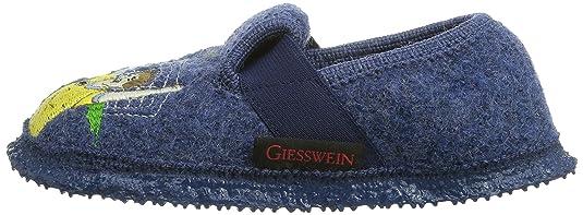 Giesswein - Torgau, Zapatillas de estar por casa Niños, Azul (Jeans), 23 EU