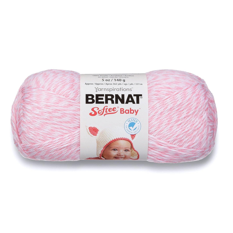 Single Ball Antique White 1 Pack Bernat 16603030008 Softee Baby Yarn