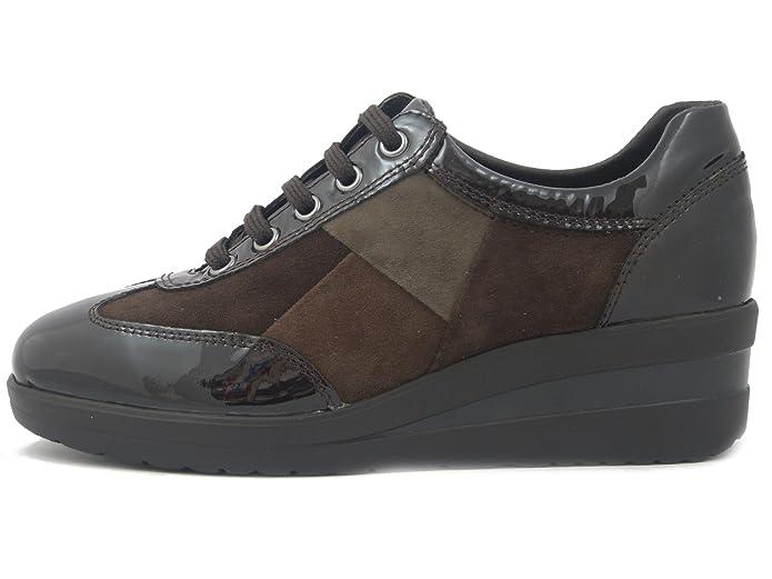 Pelle In Camoscio Step Sneakers Donna Joy Confort Linea E xqOYwvdw