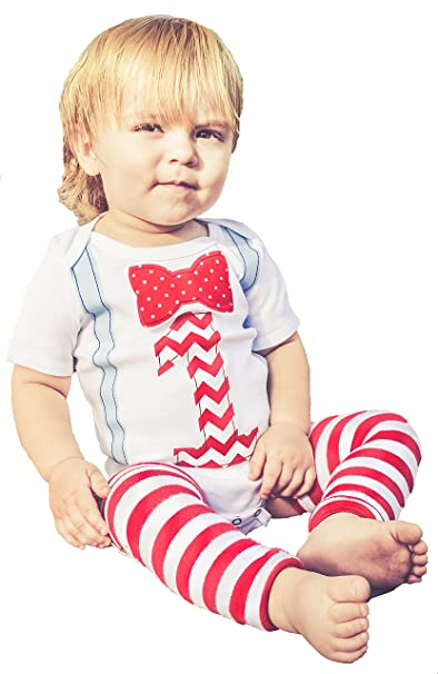 Memorable First Birthday Outfit Set Cake Smash Party Baby Boys 12 18 Mnths Red