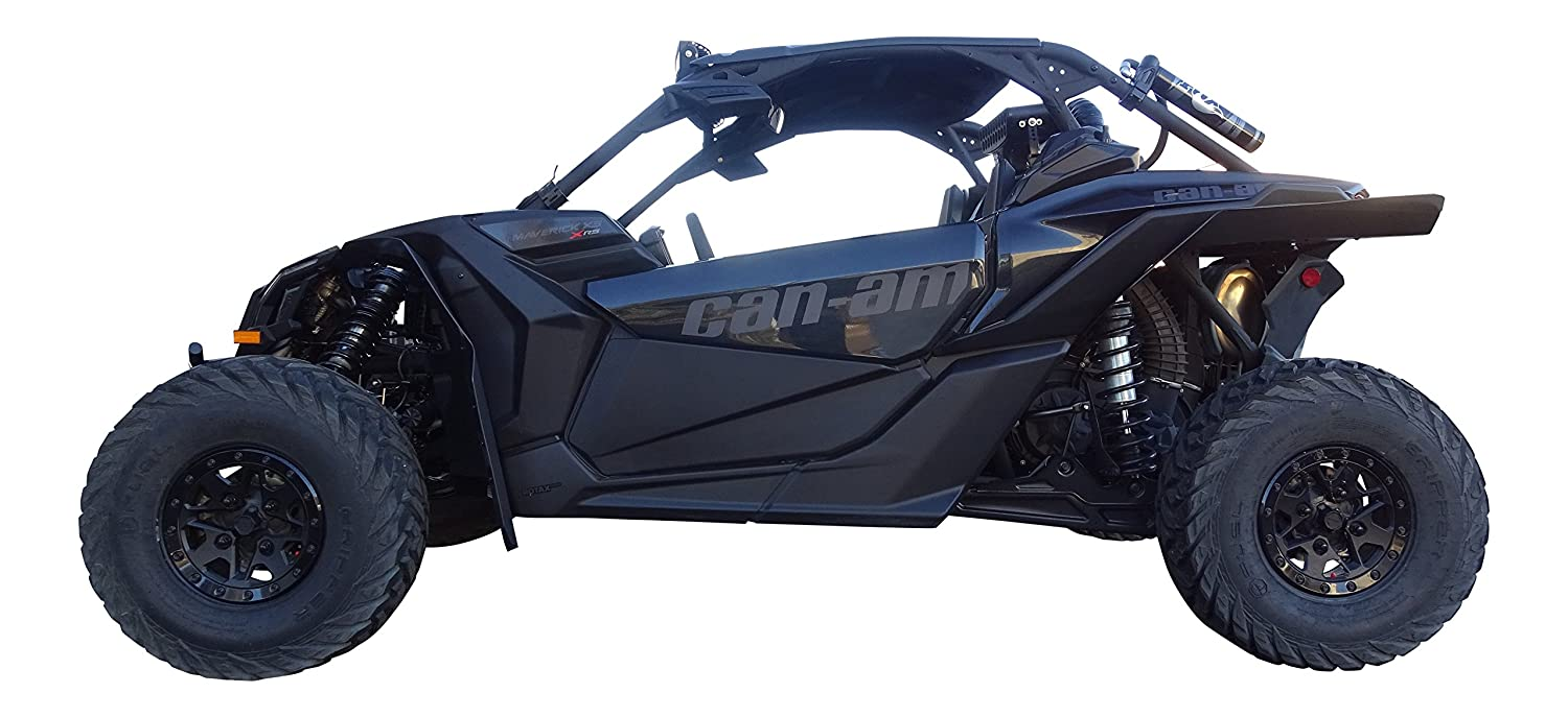 X3 RS XL MudBusters fender flares mud flaps for the Can-Am Maverick X3 /& X3 Max Longer rear fenders