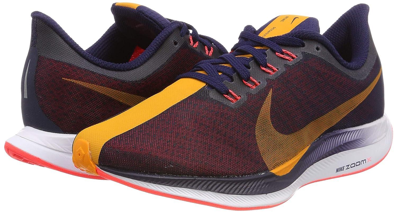 Nike W Zoom Pegasus 35 Turbo, Zapatillas de Running para Mujer, (Blackened Blue/Orange Peel/Flash Crimson 486), 38 EU: Amazon.es: Zapatos y complementos