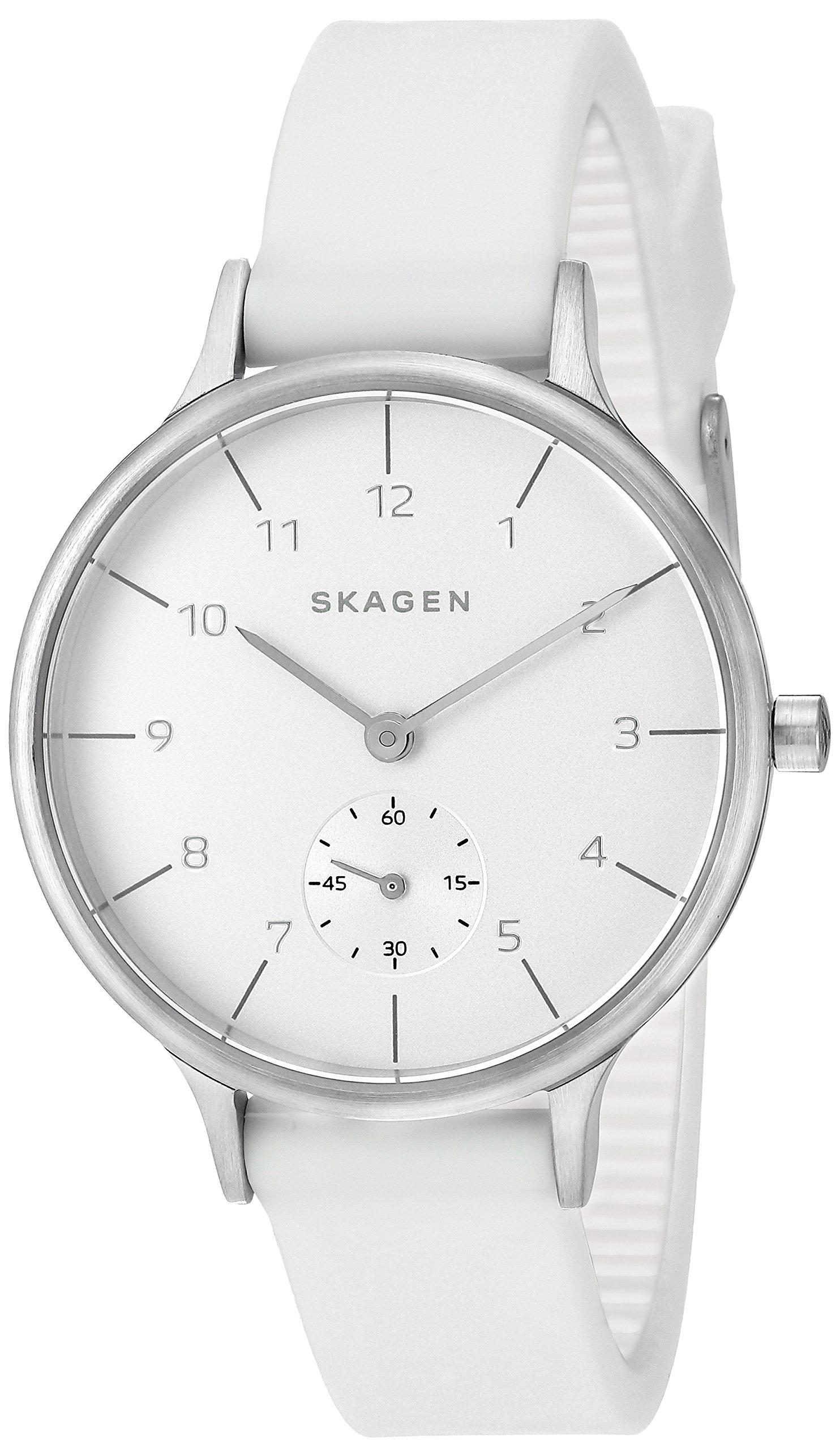 Skagen  Women's  SKW2603 Anita White Silicone Watch